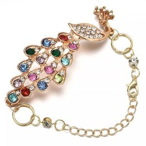 ❤️gorgeous colorful rhinestone crystal bracelets